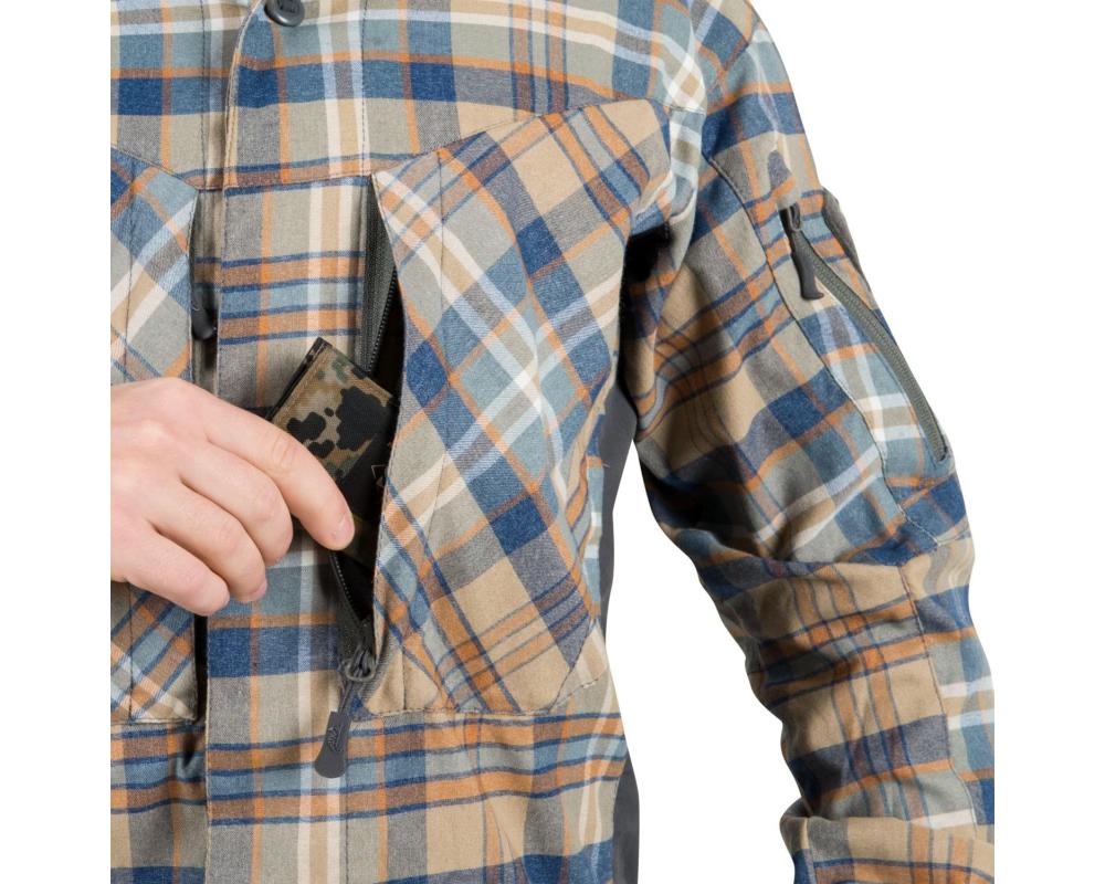 Helikon Tex MBDU Flannel Shirt, Ginger Plaid